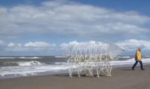 TheoJansenmet strandbeest