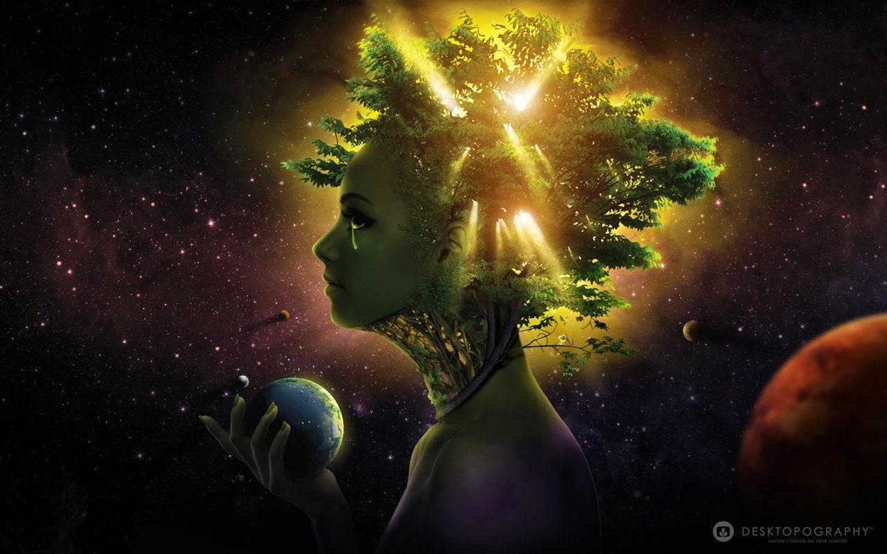 tranen van moeder aarde